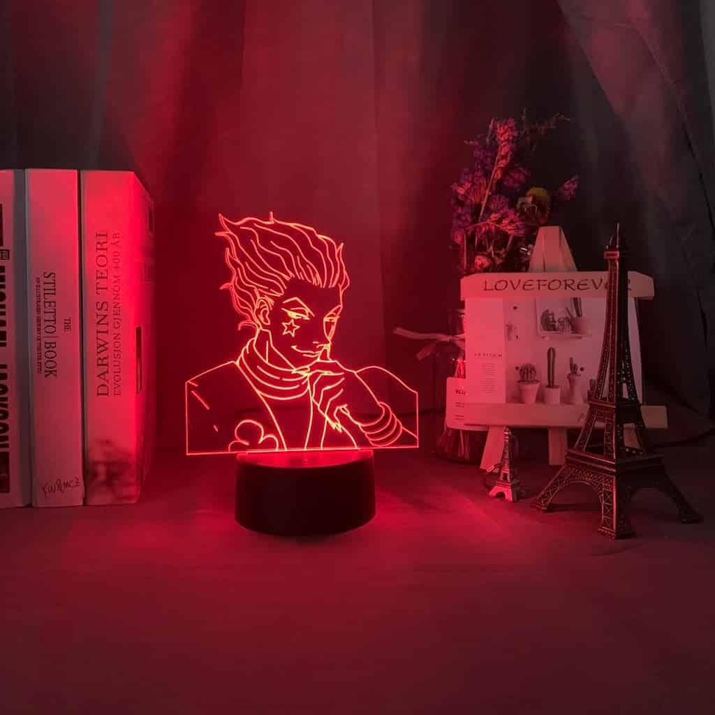 Hisoka Hunter X Hunter 3D Illusion Led Lamp