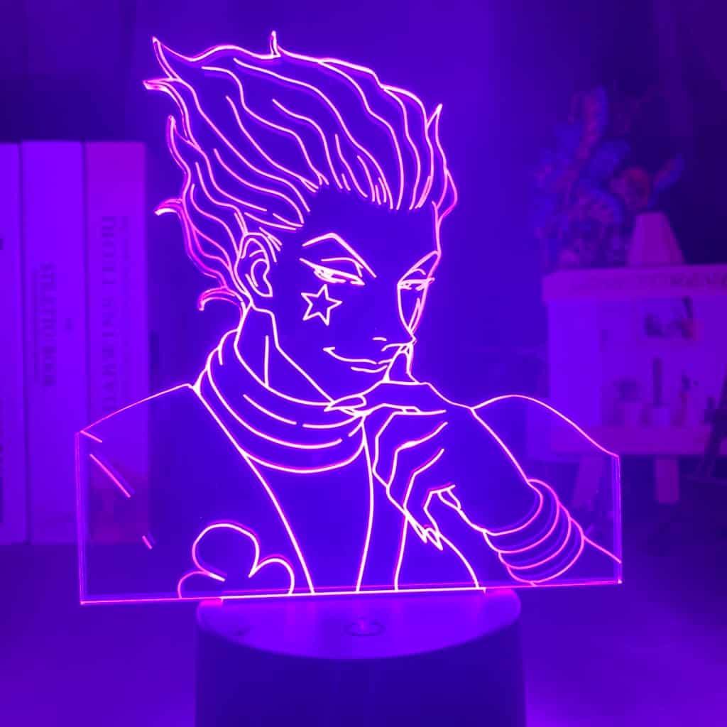 Hisoka Hunter X Hunter 3D Illusion Led Lamp