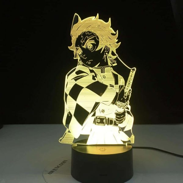 Tanjiro Kamado 3D Illusion Led Lamp (Demon Slayer: Kimetsu no Yaiba)