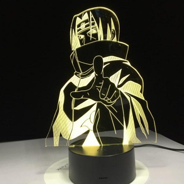 Itachi Uchiha Led Anime Lamp (Naruto)