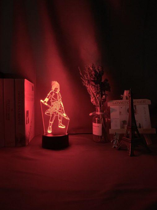 Sasuke Uchiha 3D Illusion Led Lamp