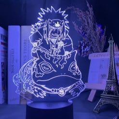 Jiraiya and Gamabunta 3D Illusion Led Lamp