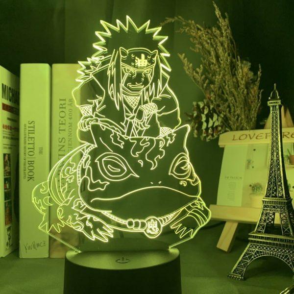 Jiraiya and Gamabunta 3D Illusion Led Lamp (Naruto)