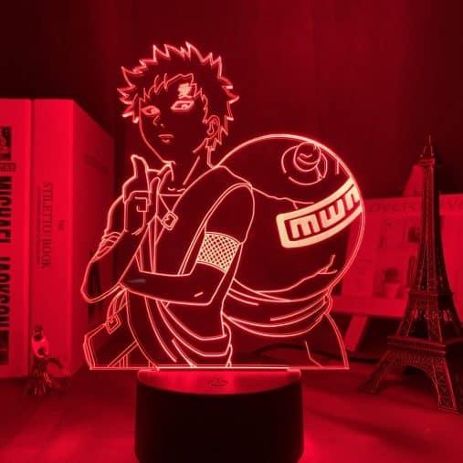 Gaara of the desert 3D Illusion Led Lamp