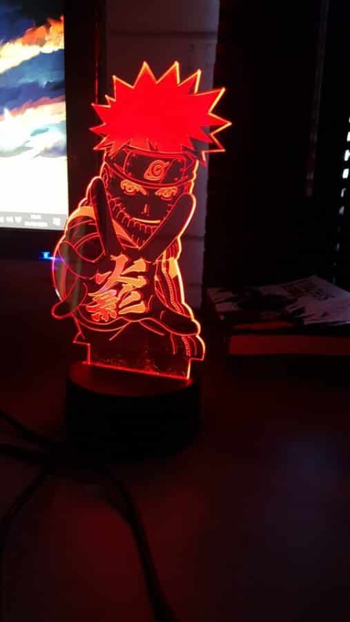 Naruto Nindo 3D Illusion Led Lamp