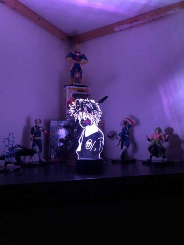 Killua Zoldyck 3D Illusion Led Lamp (Hunter X Hunter)