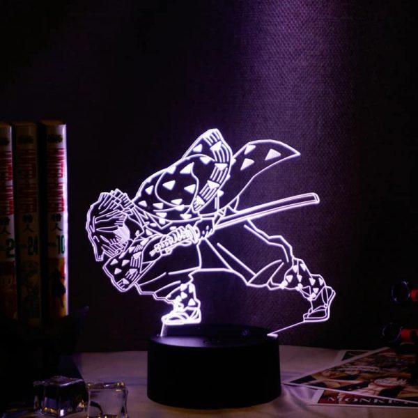 Zenitsu Agatsuma Led Anime Lamp (Demon Slayer: Kimetsu no Yaiba)