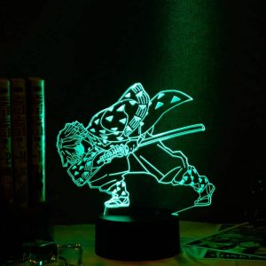 Zenitsu Agatsuma Led Anime Lamp (Demon Slayer: Kimetsu no Yaiba)