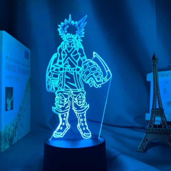 Katsuki Bakugo 3D Illusion Led Lamp (My Hero Academia)