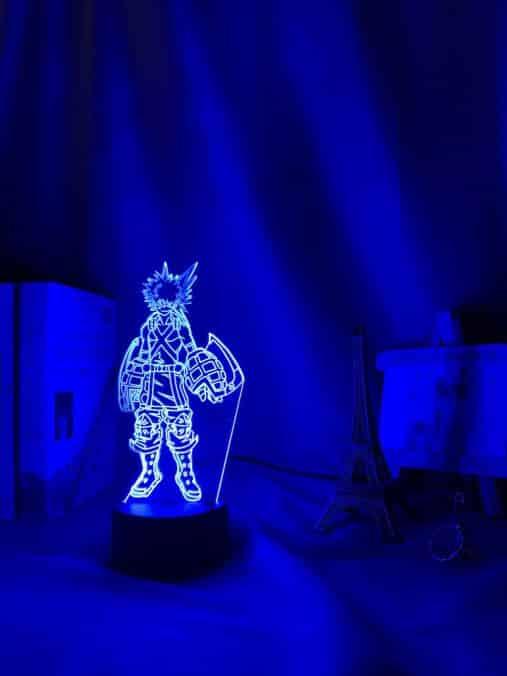 Katsuki Bakugo 3D Illusion Led Lamp