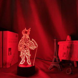 Katsuki Bakugo 3D Illusion Led Lamp (My Hero Academia)