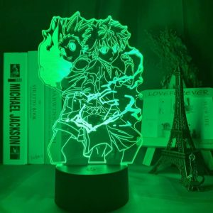 Gon ndi Killua Led Anime Lamp (Hunter X Hunter)
