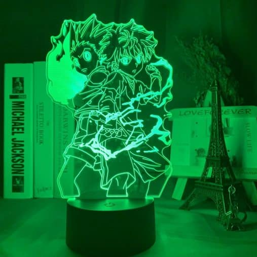 Gon and Killua 3D Illusion Led Lamp