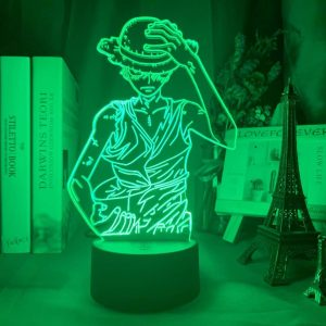 Ruffy 3D Illusion Led Lampe (One Piece)