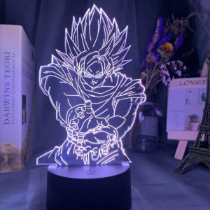 Son Goku Kamehameha 3D Illusion Led Lamp (Dragon Ball)