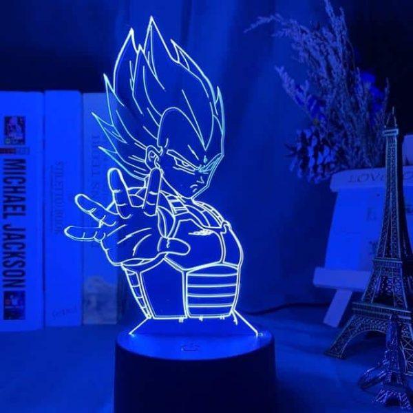 Vegeta 3D Illusion Led Lamp (Dragon Ball)
