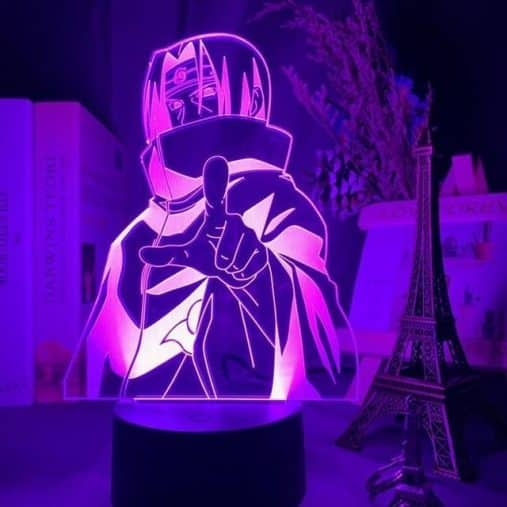 Itachi Uchiha 3D Illusion Led Lamp
