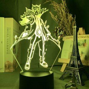 Naruto Chakra mode 3D Illusion Led Lamp (Naruto)