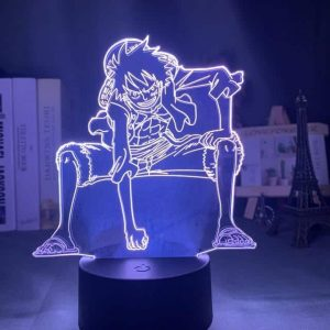 Luffy Gear 2nd 3D Illusion Led Lamp (One Piece)