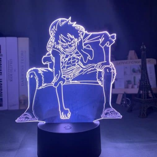 Luffy Gear 2nd 3D Illusion Led Lamp