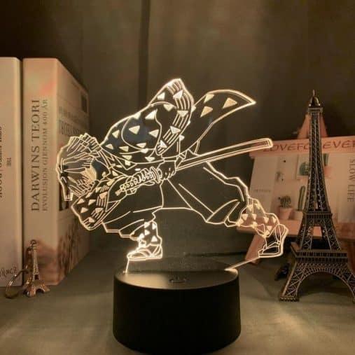 Zenitsu Agatsuma 3D Illusion Led Lamp