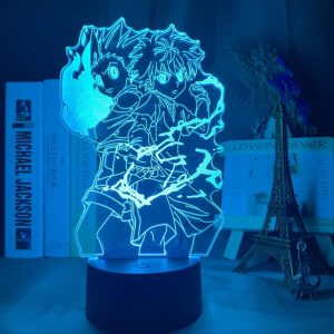 Gon and Killua Led Anime Lamp (Hunter X Hunter)