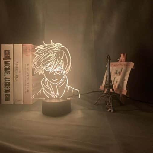 Shoto Todoroki 3D Illusion Led Lamp