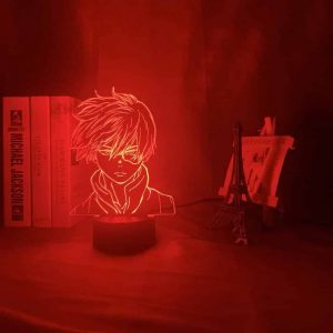Shoto Todoroki Led Anime Lamp (My Hero Academia)