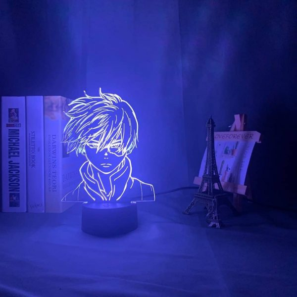 Shoto Todoroki Led Anime Lamp (My Hero Academia)