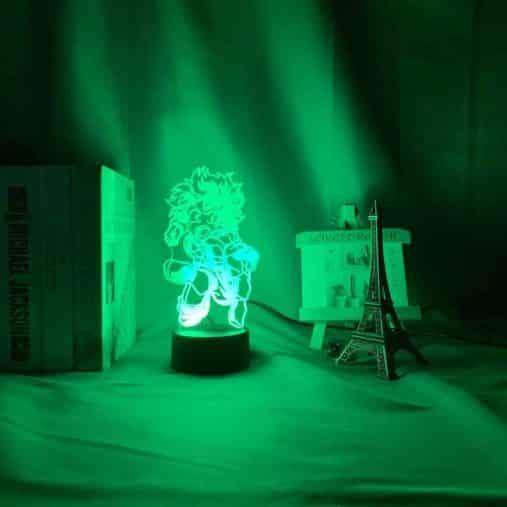 Izuku Midoriya 3D Illusion Led Lamp