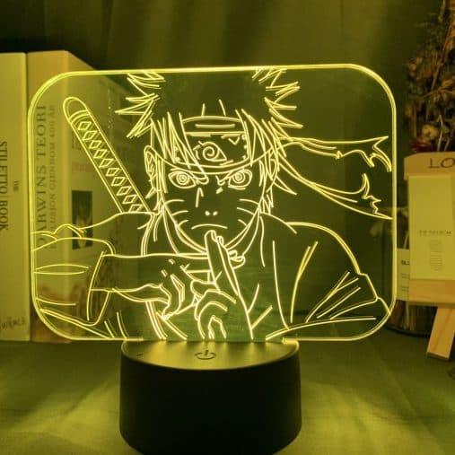 Naruto Kage Bunshin 3D Illusion Led Lamp