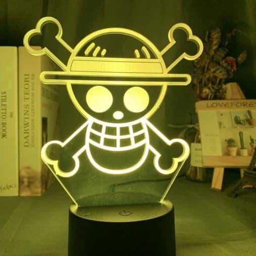 Straw Hat Pirates 3D Illusion Led Lamp