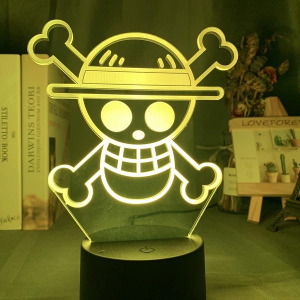 Straw Hat Pirates 3D Illusion Led Lamp (One Piece)