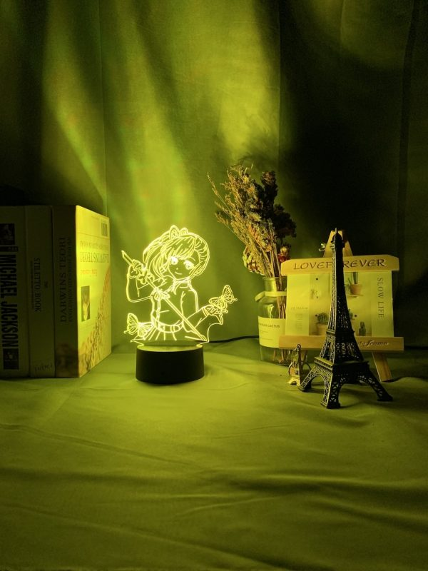 Kanao Tsuyuri 3D Illusion Led Lamp (Demon Slayer: Kimetsu no Yaiba)