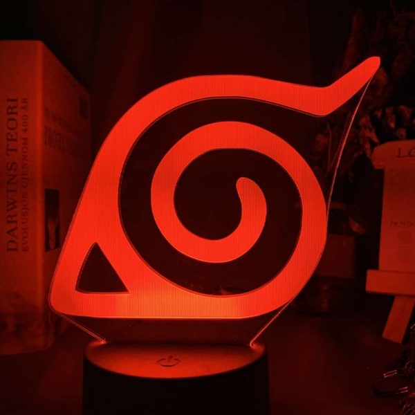 Konoha 3D Illusion Led Lamp (Naruto)