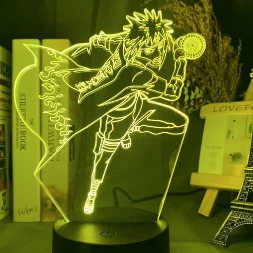 Minato Namikaze 3D Illusion Led Lamp