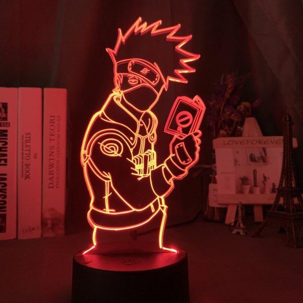 Kakashi 3D Illusion Led Lamp (Naruto)