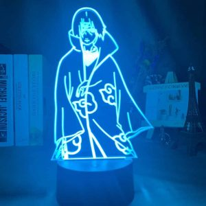 Uchiha Itachi 3D Illusion Led Lamp (Naruto)