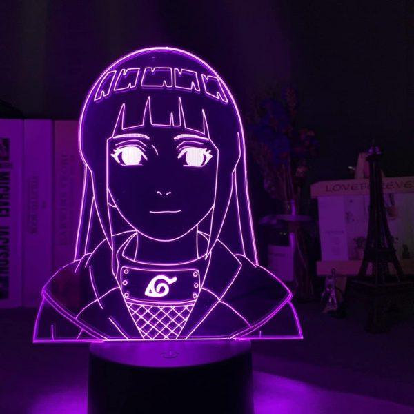 Hinata Hyuga 3D Illusion Led Lamp (Naruto)