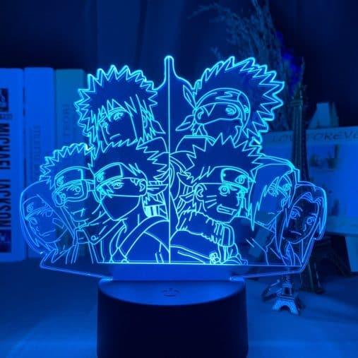 Team Minato x Team 7 3D Illusion Led Lamp