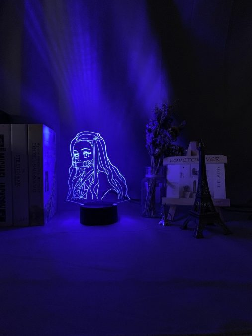 Nezuko Kamado 3D Illusion Led Lamp