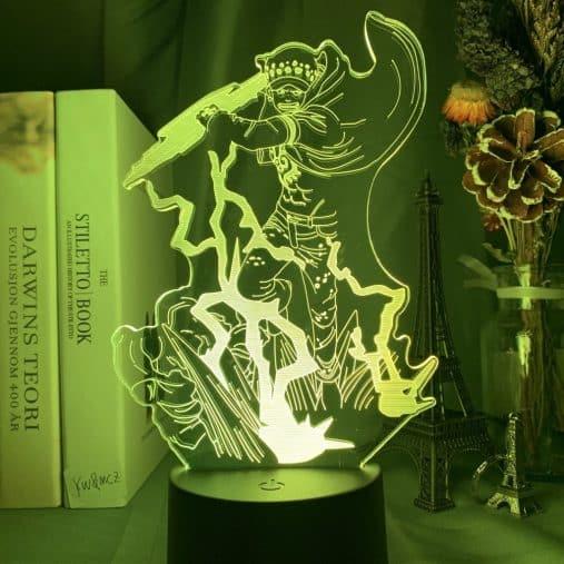 Trafalgar D.Water Law 3D Illusion Led Lamp