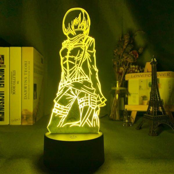 Mikasa Ackerman 3D Illusion Led Lamp (Attack on Titan)