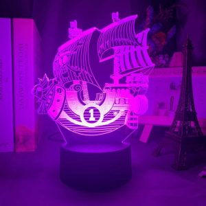 Thousand Sunny 3D Illusion Led Lamp (One Piece)