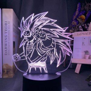 Goku Super Sayian 3D Illusion Led Lamp (Dragon Ball)