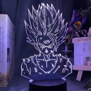 Gohan 3D Illusion Led Lamp (Dragon Ball)