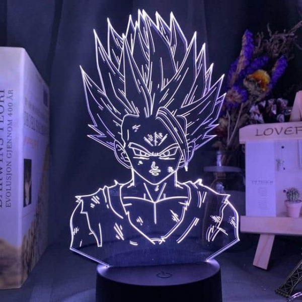 Gohan 3D Illusion Led Lamp (Dragon Ball)
