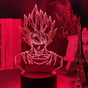 Son Goku Super Saiyan 3D Illusion Led Lamp (Dragon Ball)