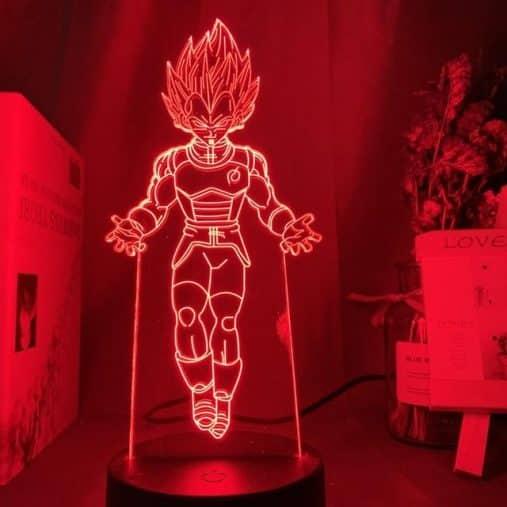 Vegeta 3D Illusion Led Lamp