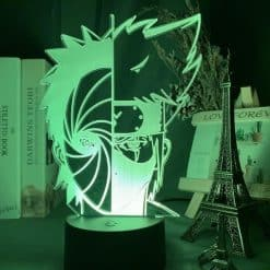 Obito x Kakashi 3D Illusion Led Lamp